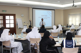 Abu Dhabi Customs organizes a series of training workshops on Hayyak Program